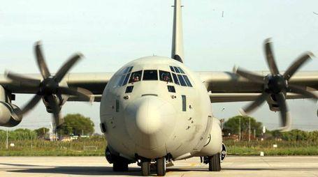 Per il trasporto aereo di emergenza è stato utilizzato un C-130J della 46ª Brigata Aerea