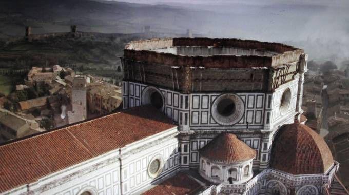 Il Duomo senza la cupola