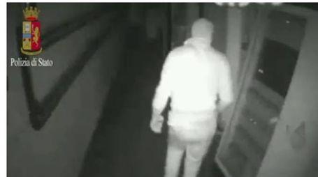 Un frame del video della banda in azione (Ansa)