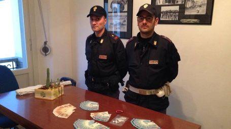 Gli agenti del commissariato di Empoli