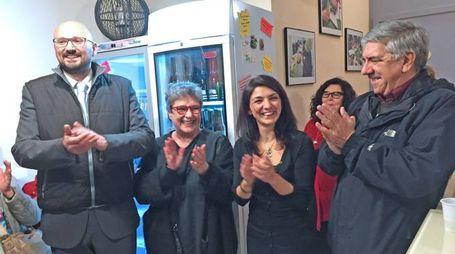 L'inaugurazione col sindaco Simone Negri