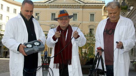 I Ghostbusters romagnoli dell'associazione «National ghost uncover»