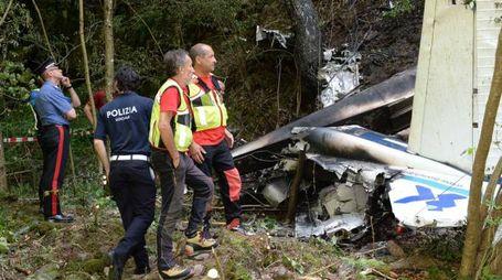 I rottami del Cessna 172
