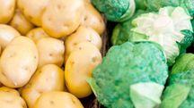 L'abbinamento fra patate e broccoli è un toccasana per la glicemia - foto jiuyi lv / Alamy