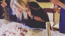 Compleanno a Milano per Mara Venier (Instagram)