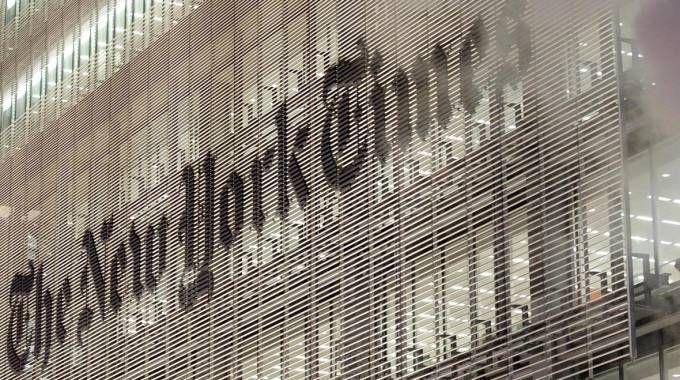 La sede del New York Times (Ansa)
