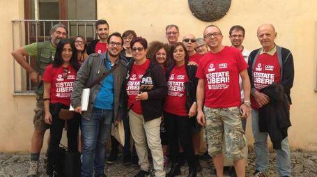 La delegazione lombarda