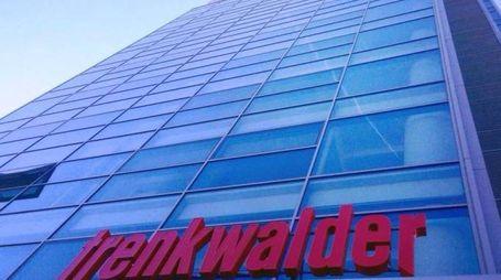 La sede di Trenkwalder nei pressi della rotonda della Maserati