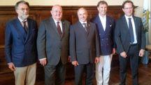 San Marino, i protagonisti del convegno 'La leadership nel terzo millennio'