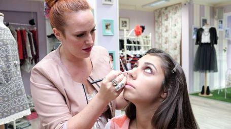 Marta Lucani, make up artist per mamme