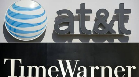 AT&T  vuole acquistare Time Warner (Afp)