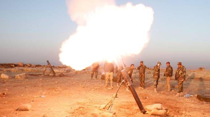 Iraq, continua l'offensiva per liberare Mosul dall'Isis (Lapresse)