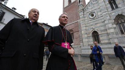 La visita di Monsignor Georg Gänswein (Radaelli)