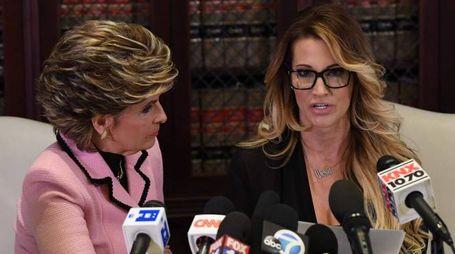 L'attrice di film per adulti Jessica Drake accusa Trump di molestie (Afp)