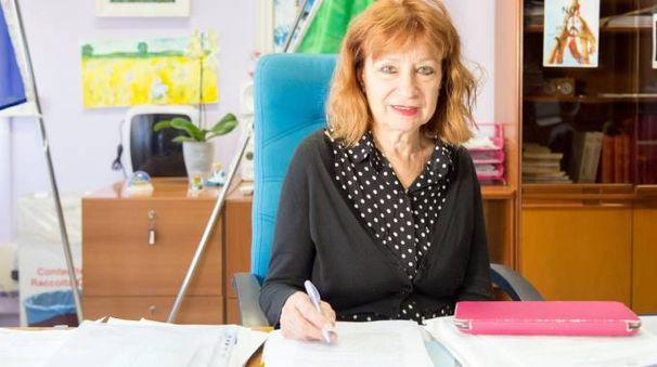 La dirigente Michela Vittorio