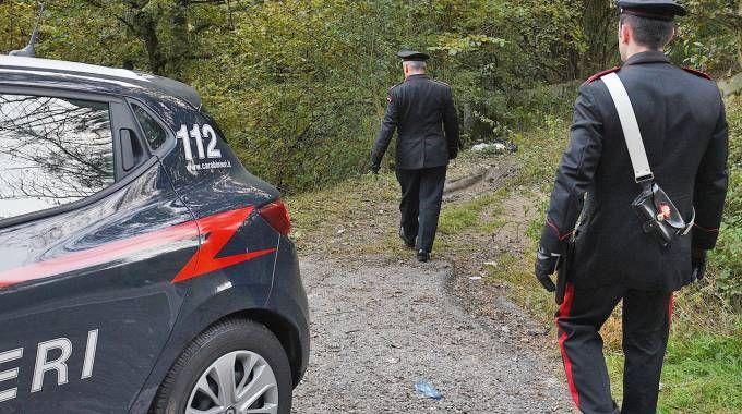 INDAGINI Il bosco dove è stato ritrovato il corpo di Nadia Arcudi Il cognato della donna, Michele Egli, è l'unico indagato