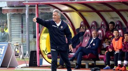 L'allenatore del Livorno, Claudio Foscarini