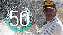 Vittoria numero 51 in F1 per Lewis Hamilton (@F1)