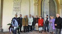 Una foto di gruppo al termine della cerimonia di sabato