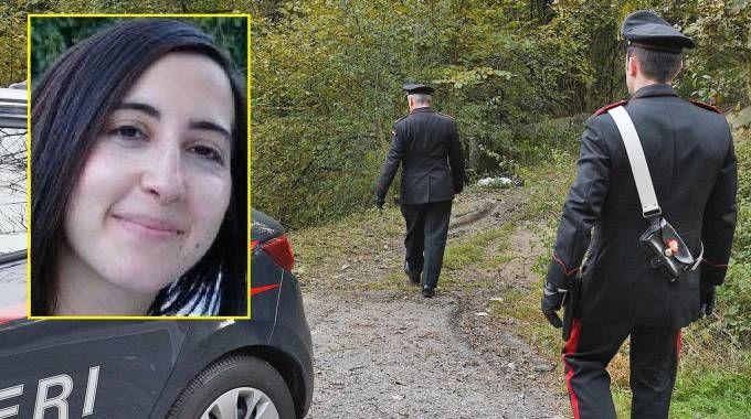 Il luogo del ritrovamento di Nadia Arcudi, la ragazza nel riquadro giallo