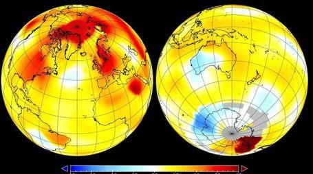 Nasa, settembre 2016 il mese più caldo degli ultimi 136 anni (Ansa)