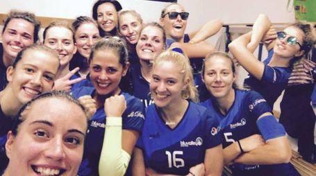 La squadra del Blu Volley Quarrata