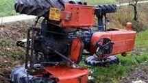 Un trattore (Foto di repertorio)