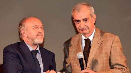Il prefetto Michele Tortora (a destra) con il sindaco di Ferrara Tiziano Tagliani (Businesspress)