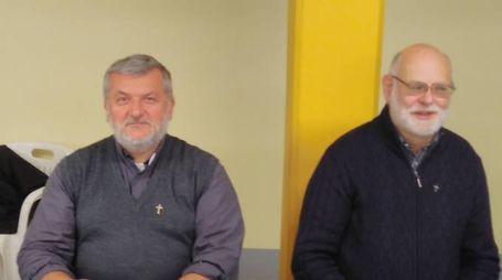 i padri Elio Dalla Zuana e Marfi Pavanello