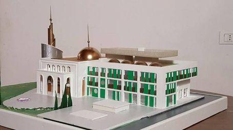 Il modello della futura moschea