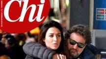 """Leonardo Pieraccioni e Irene Balestra sulla copertina di """"Chi"""""""