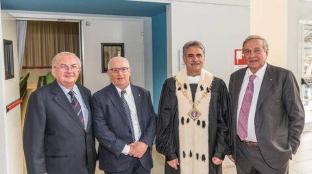 Laurea honoris causa ad Alfred Cuschieri e Valentino Mercati