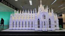 Il Duomo di Milano in mattoncini