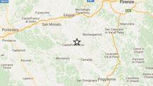 Terremoto in Toscana 3,9 con epicentro a Castelfiorentino