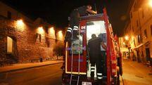 Terremoto, le verifiche dei vigili del fuoco (Germogli)