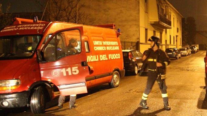 Sul posto vigili del fuoco, carabinieri e personale dell'Ats