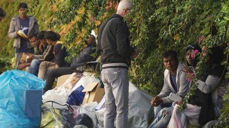 Migranti appena arrivati in Italia (Ansa)