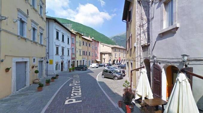 Terremoto, Visso, comune in provincia di Macerata (Ansa)