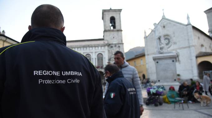 Protezione civile in Umbria