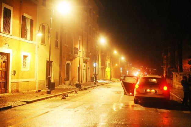 Visso, in provincia di Macerata (Lapresse)