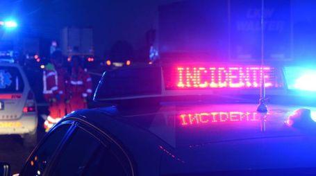 Il tragico incidente è avvenuto in A14 tra i caselli di Forlì e Faenza (foto Fantini)