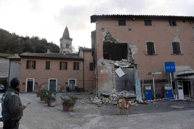 décombres de tremblement de terre en Visso (AFP)