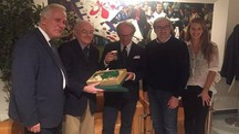 Da sinistra, Giani, Andrisano, Antognoni, Gabbanini e Maffei