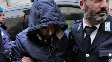Antonio Tagliata all'uscita del tribunale (Foto Emma)