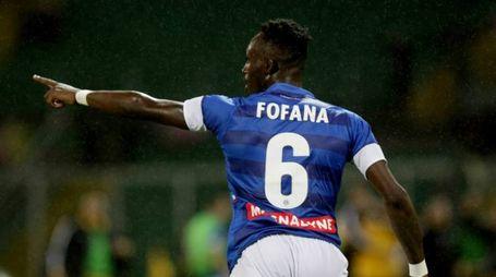 Doppietta di Fofana contro il Palermo (Lapresse)
