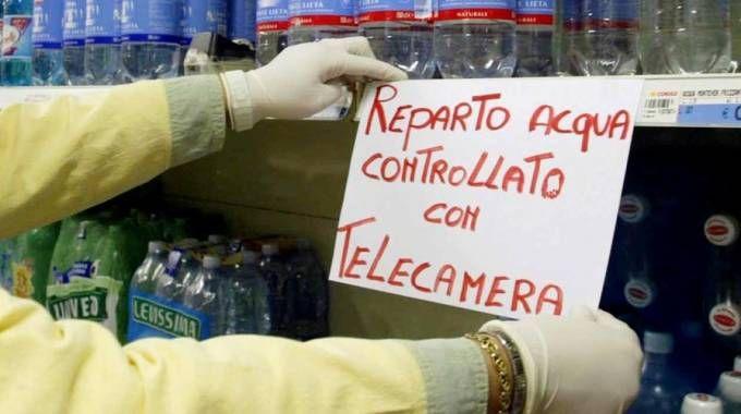 Telecamere come deterrente ai furti nei supermercati