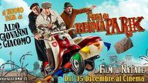 Locandina 'Fuga da Reuma Park' con Aldo Giovanni e  Giacomo