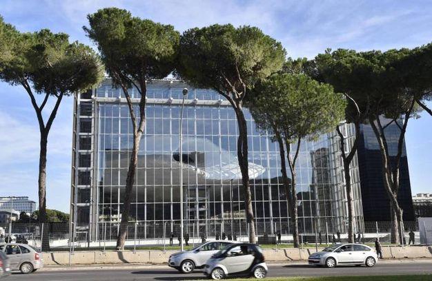 Roma inaugurata la nuvola di fuksas virginia raggi for La nuvola di fuksas roma