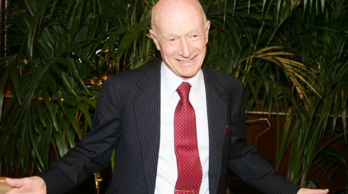Il patron di Esselunga Bernardo Caprotti, recentemente scomparso