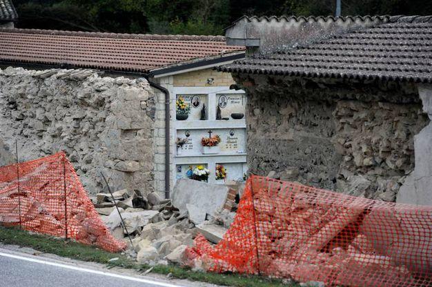 Castelsantangelo sul Nera, il cimitero (foto Calavita)